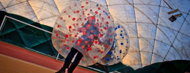 Official roganizer of bubble football games in Warsaw and Kraków
