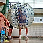 Bubble Football Stag do activity Warsaw