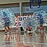 Stag Party in Warsaw with Bubble Football