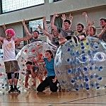 Stag Party Warsaw with Bubble Football